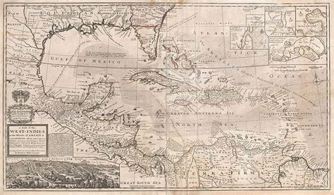 File:1732 Herman Moll Map of the West Indies, Florida
