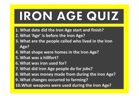 IRON AGE TEACHING RESOURCES HISTORY KEY STAGE 2 TOOLS