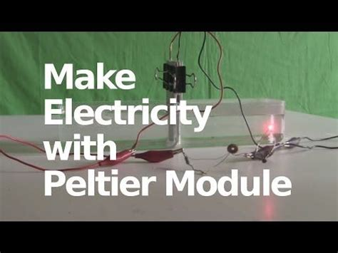 Peltier Joule Thief Power Supply | Thermoelectric