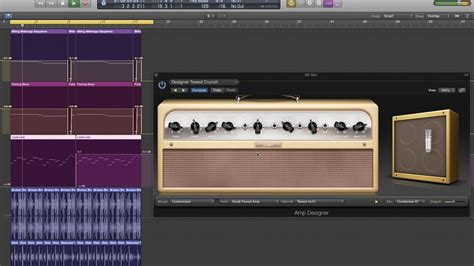 How to process a synth lead using a guitar amp sim