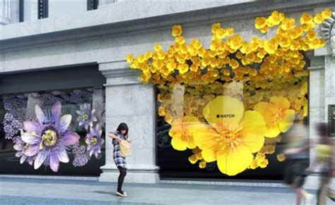 In bloom: Apple stages a floral takeover of Selfridges