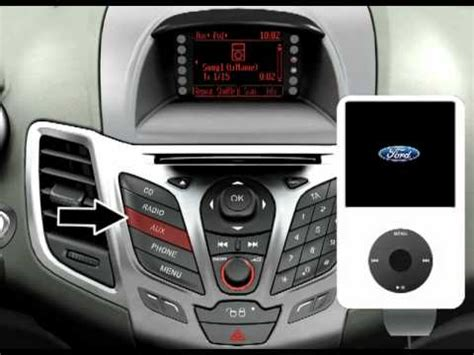 Ford Fiesta iPod Connection - YouTube