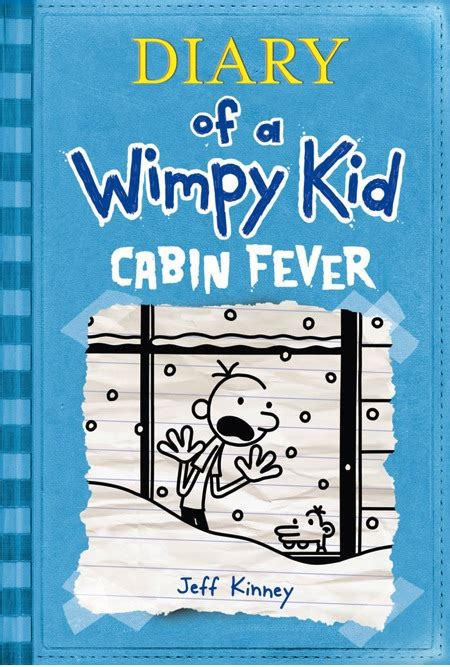 Diary of a Wimpy Kid #6 - Cabin Fever Cover Revealed