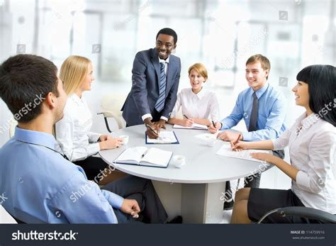 Business People Working Together Diverse Work Stock Photo