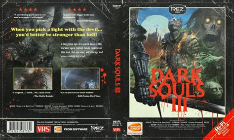 Get your Dark Souls 3 VHS box cover | PC Invasion
