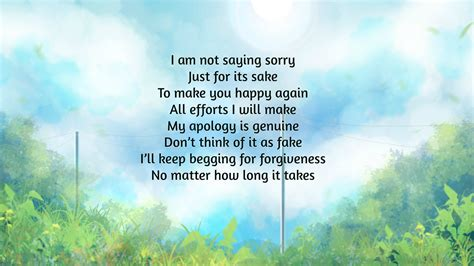 I'm Sorry Poems   Text And Image Poems   QuoteReel