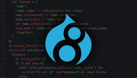 An intro to the Twig templating engine in Drupal 8   Access