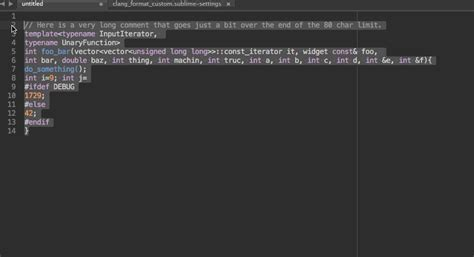 Clang Format - Packages - Package Control