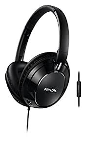 Philips Over-Ear FX5MBK Headphone with Bass Booster