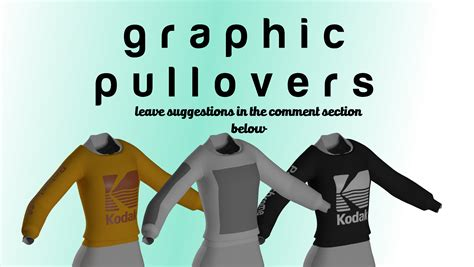 graphic pullovers at Fallout 4 Nexus - Mods and community