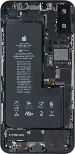 iPhone 11 Pro Max internals wallpaper - IT Central Point