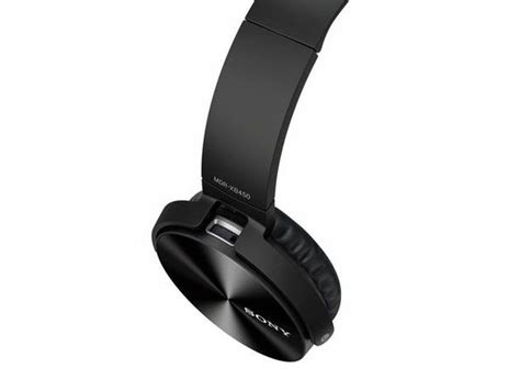 Sony MDRXB450AP/B Extra Bass On-Ear Headphones with