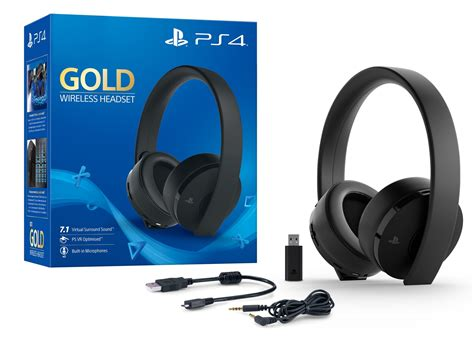 PS4 Gold Wireless Headset | PS4 | In-Stock - Buy Now | at