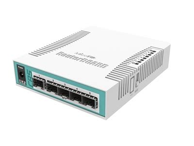 MikroTik, Cloud Router Switch CRS106-1C-5S - AccessPoint Kft