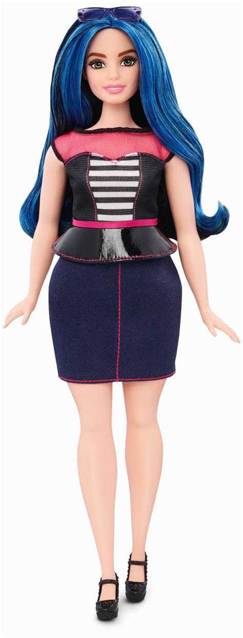 Mattel launch new body types for Barbie dolls including