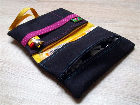 Meine Upcycling-Tabaktasche - just sewn