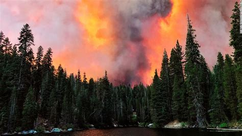 Creek Fire: California's largest wildfire spawned two