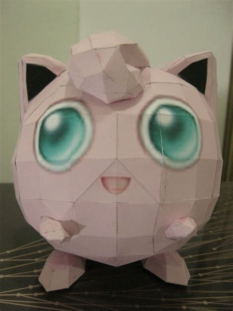 Pokemon: Jigglypuff Paper Craft · How To Make A Paper
